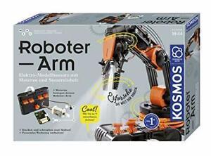 KOSMOS Roboter-Arm, Modellbausatz für deinen elektrischen Roboterarm