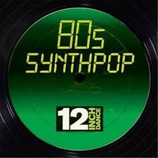 12 INCH DANCE 80s SYNTHPOP VARIOUS ARTISTS 3 CD DIGIPAK NEW