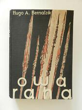 Owa Raha Hugo Adolf Bernatzik Büchergilde Gutenberg