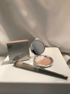 IT Cosmetics HELLO LIGHT Anti-Aging Crème Radiance Luminizer w/Brush NIB