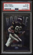 1998 Finest #135 Randy Moss rookie PSA 10 Minnesota Vikings