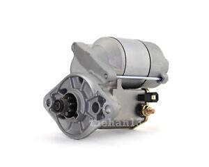 Starter Motor for Holden Rodeo & Jackaroo 2.6L Petrol (4ZE1) 1988-1998