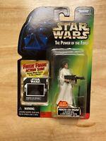 Kenner Star Wars: Power Of The Force-Princess Leia Organa w/ Freeze Frame Slide