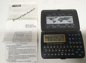 Personal Data Assistant With Instruction Manual