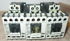 IDEC YS3N-9FG2 INDUSTRIAL 4 POLE CONTACTORS DC 24V Coil, 20A Contacts (lot of 3)
