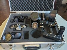 Olympus Om2 Black and Chrome Cameras w/ Accessories and Case (No Reserve)