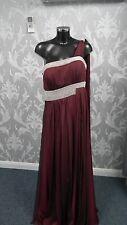 Tiffanys Long Wine Evening /Prom Dress Size 20