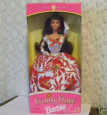 BARBIE DOLL EVENING FLAME SPECIAL EDITION 1995 MIB MATTEL