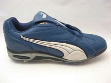PUMA Mens Navy Blue Metal Baseball Cleats 16 Pro Low 360002 Professional $99 NEW