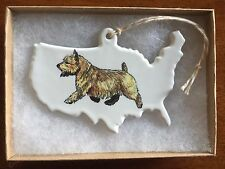 Running Norwich Terrier Ornament