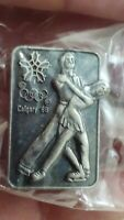 Pairs Figure Ice Skating Calgary Winter Olympic Games 1988 lapel pin pre-owned