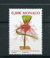 Monaco 2016 MNH 49th International Bouquet Competition 1v Set Flowers Stamps