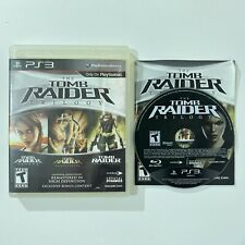 New listing The Tomb Raider Trilogy Playstation 3 Ps3 Complete Manual Tested Cleaned