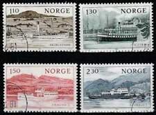 Noorwegen gestempeld 1981 used 841-844 - Binnenscheepsvaart (1)