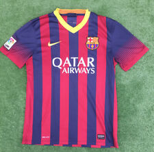 SPAIN BARCELONA NIKE HOME FOOTBALL SHIRT 2013-14 SIZE MEDIUM ADULT