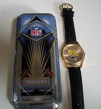 San Diego CHARGERS Team NFL Officially Licensed Spirit Leather Band FashionWatch