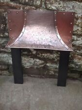 ANTIQUE ARTS AND CRAFTS COPPER AND CAST IRON INSERT