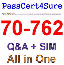 Best Exam Practice Material For 70-762 Exam Q&A+SIM
