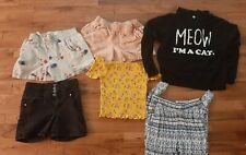 Lot Shorts Tops girl 12-13y gap, H&M etc