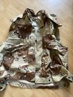 PASGT Vest cover  DESERT  6-color camo Small/Medium US Army Hunting Duck Fishing