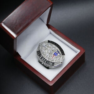 2018 Patriots Super Bowl Ring New England Patriots Championship Ring with Box