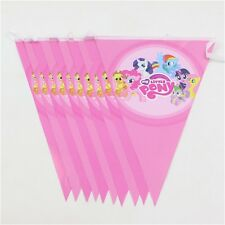 MY LITTLE PONY DECORATIVE BUNTING/ FLAGS/ BANNER FOR BIRTHDAY PARTY