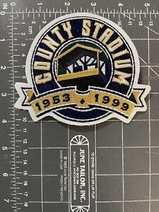 County Stadium 1953-1999 Milwaukee Brewers Logo Patch Major League Baseball MLB
