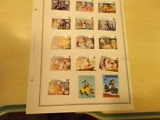 New listing 15 Foreign Country Disney Stamps