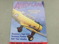 *LOOK* Vintage AEROPLANE MONTHLY Magazine March 1989 - Grumman Panther, RAF Thor