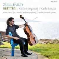 Bailey Zuill - Britten:Violoncelle Symphony/Sonata Neuf CD