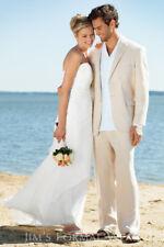 FAVIANA COUTURE Simple & Flowy Guazy Strapless ELEGANT SEXY Wedding Dress Size 4