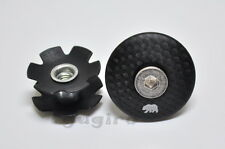 "MARIN Road MTB Headset 1 1/8 Stem Carbon Top Cap 1-1/8"" Cover w/Bolt+Star Nut"