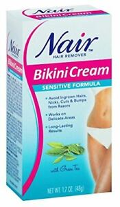 Nair Nair Sensitive Bikini Cream Hair Remover - 1.7 oz
