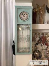 Clayre & Eef Decor Wall Clock Wood Metal Shabby Vintage