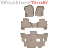 WeatherTech FloorLiner for Cadillac Escalade w/ Bench - 2015-2017 - Tan