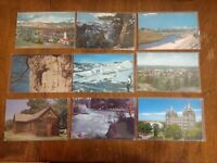 Lot of 33 Union Oil Companys Natural Color Scenes Of The West Postcards Union 76