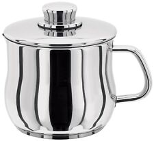 Stellar 1000 Stainless Steel Induction 14cm Milk Sauce Pot Pan Jug with Lid S163