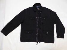 Polo RALPH LAUREN Diamond Quilted Army Cotton Thermal Jacket _ XL _ BLACK