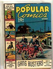 Popular Comics # 43 FN Golden Age Dell Comic Book Dick Tracy Terry Annie NE4