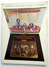 CROSBY, STILLS NASH & YOUNG Songbook S/T Warner Bros. Publ. 70's FOLK ROCK w