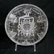 Hawkes & Co.  ABCG Cut Glass Crystal Bowl