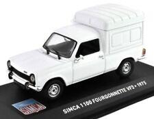 SIMCA 1100 FOURGONNETTE VF2 furgoneta VAN 1:43 IXO Altaya Diecast