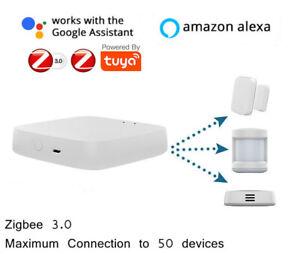 Tuya ZigBee 3.0 Smart Gateway Hub Smart Home Bridge Smart Life APP