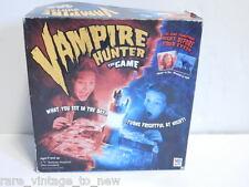 2002 VAMPIRE HUNTER Board Game - Light Up Castle - Milton Bradley -