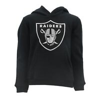 Oakland Raiders Kids Youth Size NFL Official Hooded Sweatshirt New With Tags