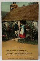 GOOD-BYE NOREEN A Scorned Man, 1911 Milnor Pa Postcard E18