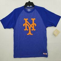 New York NY Mets Baseball Short Sleeve Graphic T Shirt SIze Small Stitches NWT
