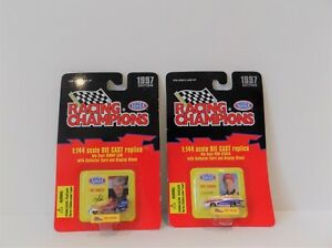 RACING CHAMPIONS 1997 EDITION 2 X 1:144 DIE CAST PRO STOCK + FUNNY CAR MINT