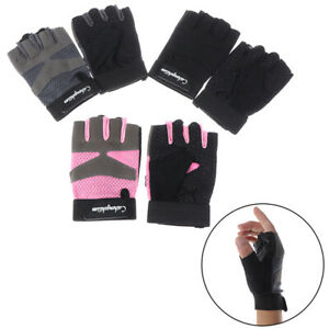 Sports fitness gloves for women gym Bodybuilding weightlifting dumbbells yo3^BI