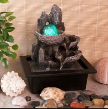 Indoor Water Fountain Magical Mountain Claming Electric Mains Powered